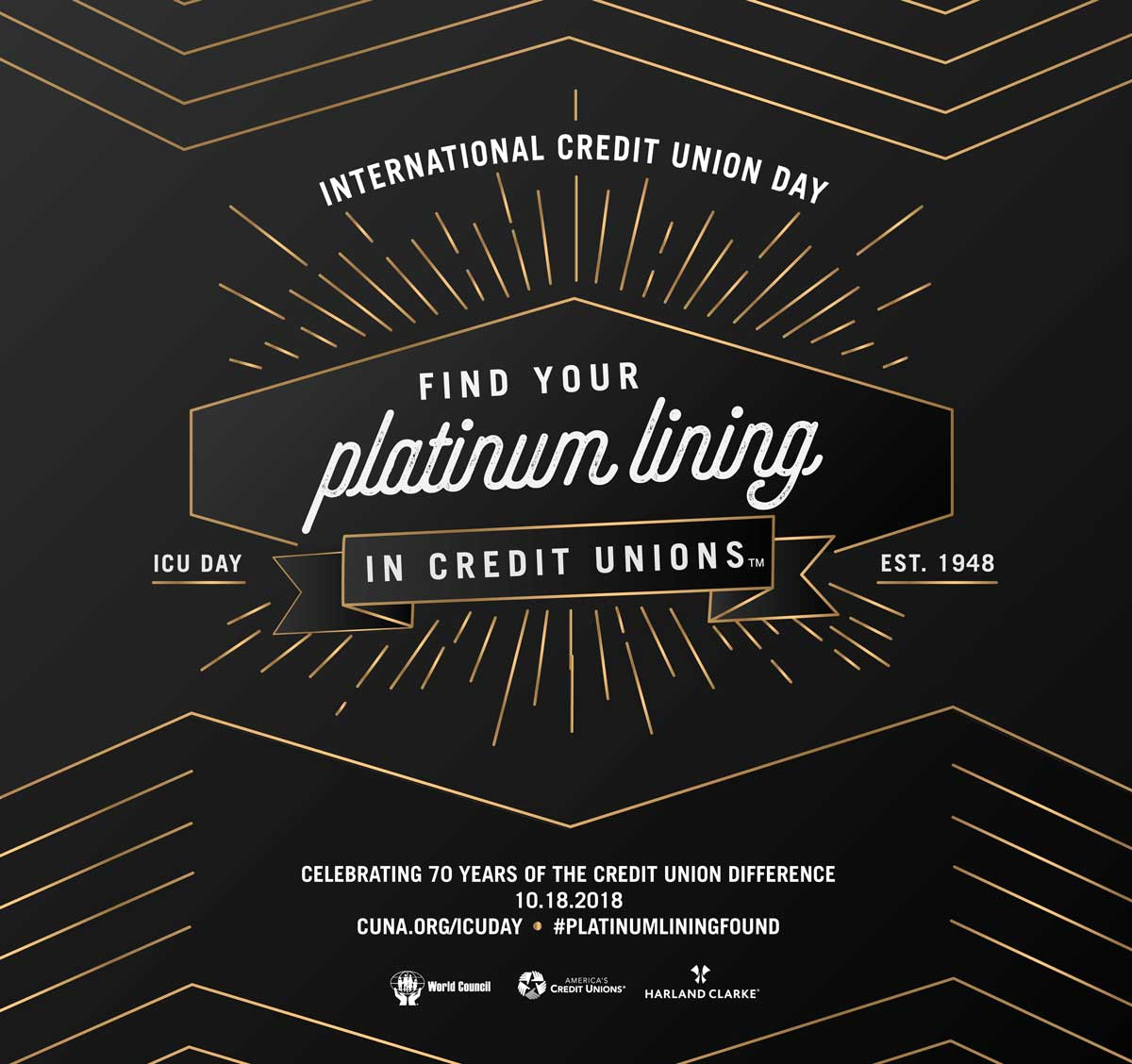 International Credit Union Day poster